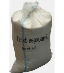 Торф верховой 80 литров